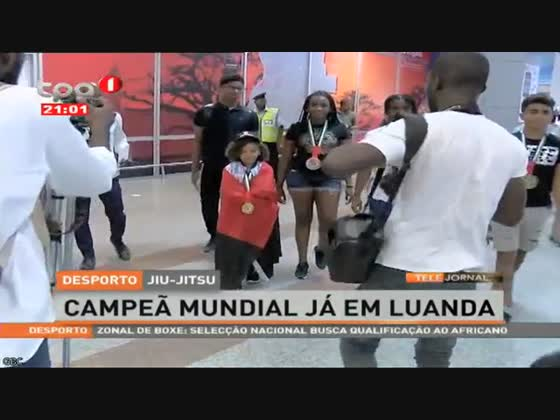Campeã Mundial de Ju-Jitsu já em Luanda